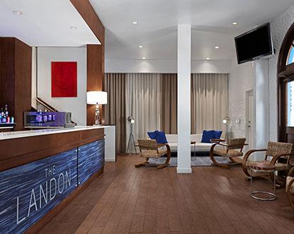 The Landon Miami Hotel Lobby