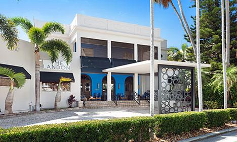 Exterior of The Landon Miami Hotel